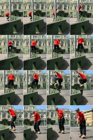 frontside boardslide transfer