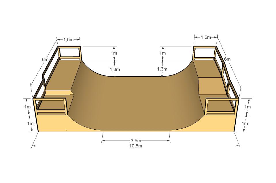Как сделать рампу для скейта